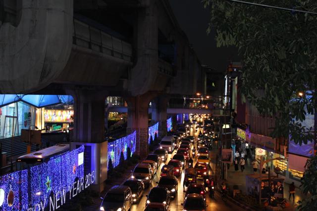 Ruas de Bangkok